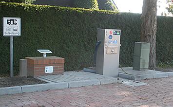 Reisemobilstellplatz Entsorgungsstation